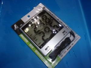 温室時計(未使用)【980円/税込】